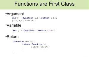 js函数简介